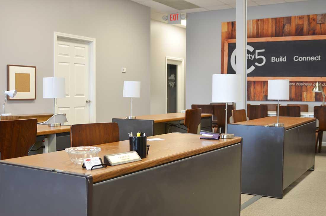 Corridor 55 Open Desk Work Space