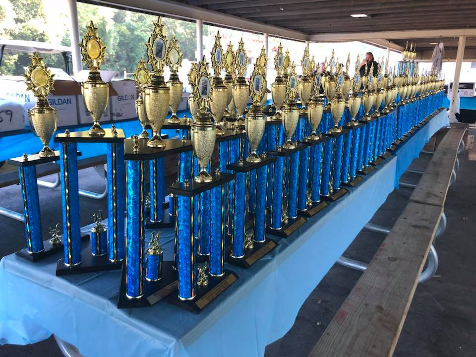 Arnold Car and Bike Show Trophies